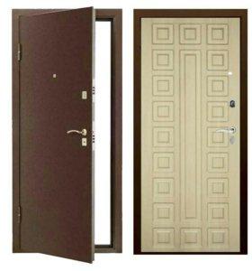 Входная дверь Берлога - «СЕНАТОР Оптима медь»