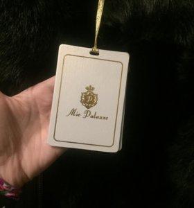 Дубленка новая куплена в Дубаи натуральный мех