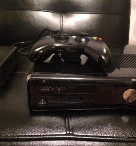 Приставка XBOX 360, 250 гб +кинект + диски!!!