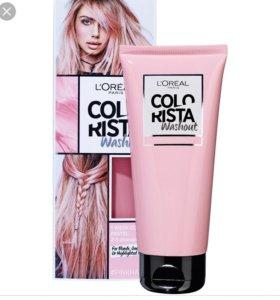 Красящий спрей для волос colorista