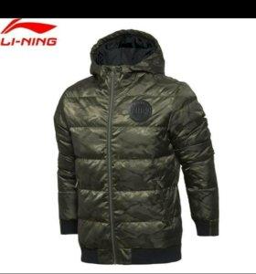 Зимний пуховик Li Ning- очень качественный (XL).