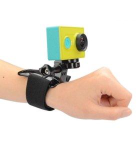 Крепление для GoPro на руку компактное черное