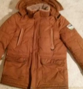 Зимняя мужская куртка POLARBER. Очень теплая