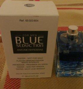 Antonio Banderas Blue Seduction, 100 ml