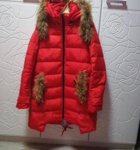 Куртка - пальто Пуховик 44р