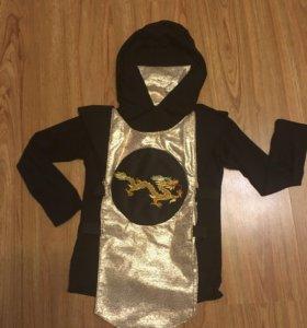 Новогодний костюм «ниндзя»