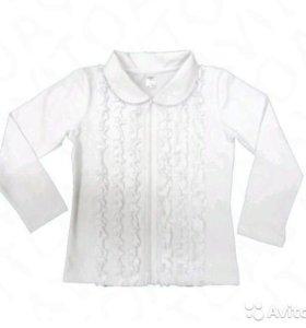 Блузка новая трикотажная 5 - 12 лет