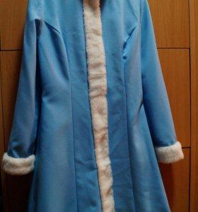 Снегурочка костюм 40-44 р-ры