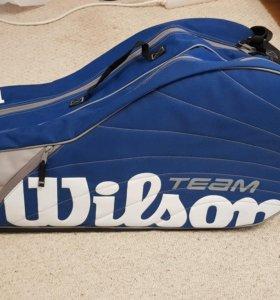 Теннисная сумка Wilson team на 6 ракеток