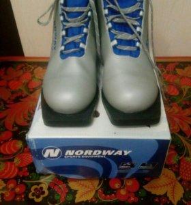 Ботинки лыжные ( 37р-р)