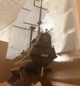 Корабль под заказ до 1 метра, ручная работа!