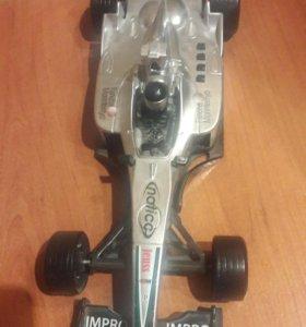 Машина гоночная формула 1 звук 4 кнопки