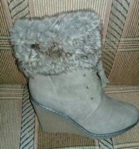 новые ботинки зима, 37-41