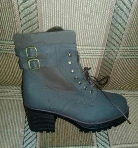 новые ботинки зима, 38-41