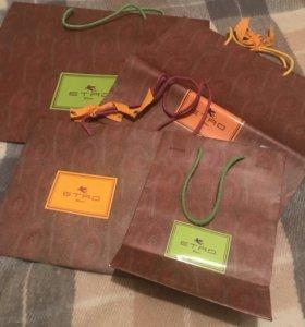 Подарочные пакеты ETRO (оригинал)