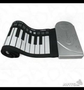 Гибкое пианино 49 клавиш