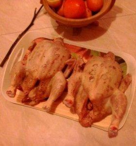 Мясо цыплят бройлера с подворья