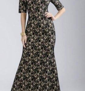 Платье в пол, новое! S