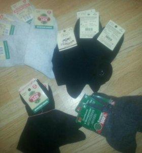 Новые мужские носки от 40-45 размеры. Хлопок лен