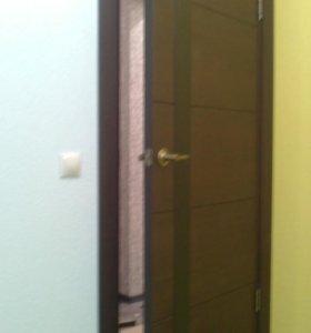 Установка дверей,ламината,обшивка железных дверей