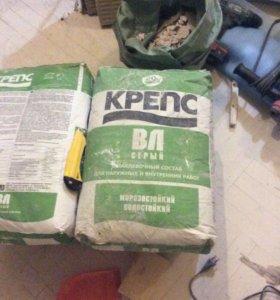Шпаклевка Крепс ВЛ серая 20 кг (4 упаковки)