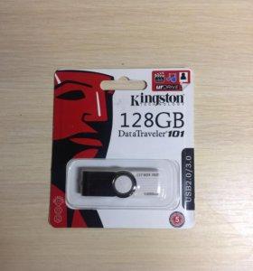 USB Flash Drive 128Gb Kingston DT 101 USB2.0/3.0