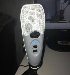 Микрофон для стримов cad u37