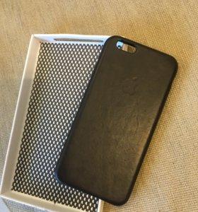 Чехол кожаный на iPhone 6, 6s