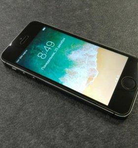 iPhone 5s 32gb черный идеальный