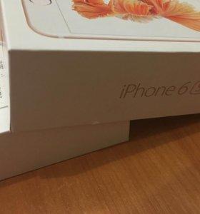 IPhone 6s (16g) розовое золото