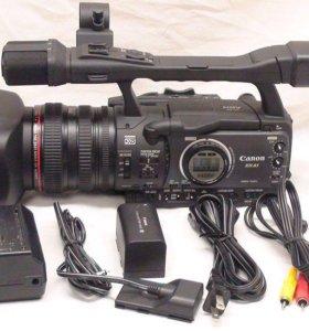 Видеокамера Canon A1+рекордер Datavideo DV-60