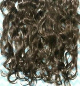 Волосы кудрявые