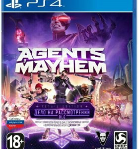 Игра для PS4 Agents Mayhem