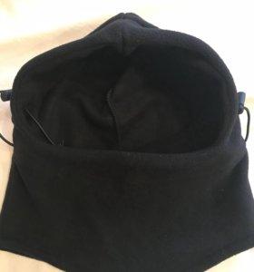 Шлем новый флис на любой размер