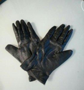 Перчатки натуральная кожа женские