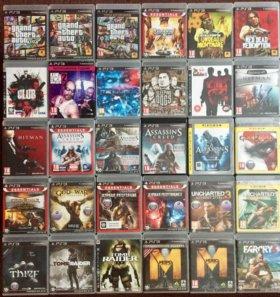Куча Лицензионных дисков для Sony PlayStation 3