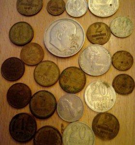 Продам монеты одним лотом