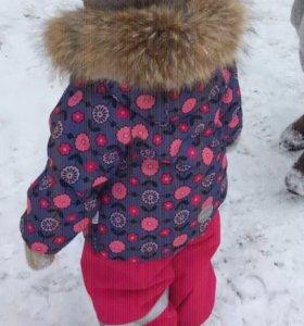 Зимний костюм для девочки Lassie.