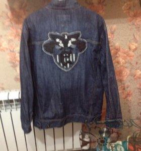Куртка джинсовая 50 размер