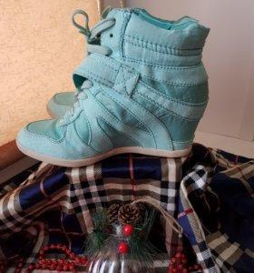 Ботинки/сникерсы Graceland..)мятные..😍💚💥)💌👉