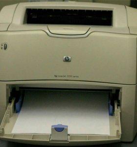 Продается лазерный принтер Hp LaserJet 1200