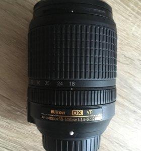 Объектив nikkor 18-140 mm