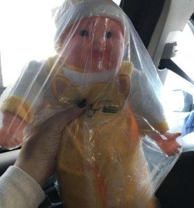 Игрушка кукла пупс хохотун