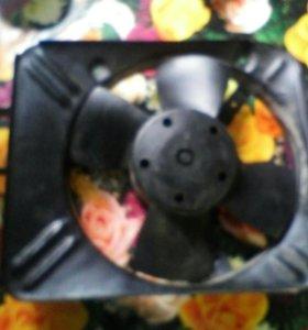 Электровентилятор радиатора ваз 2106