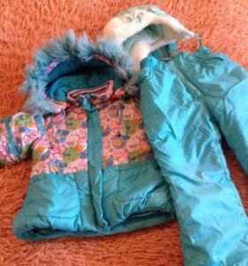 Зимняя куртка и штаны детские