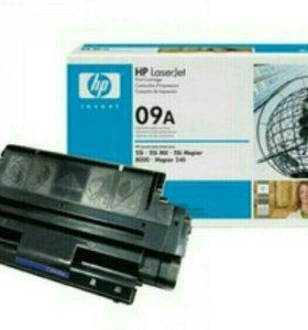 Картридж HP C3909A 09A Black черный оригинальный