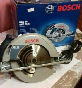 Пила циркулярная Bosch gks 85