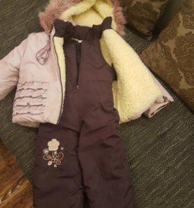 Полукомбинезон + куртка (овчина)