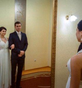 Платье вечернее-свадебное