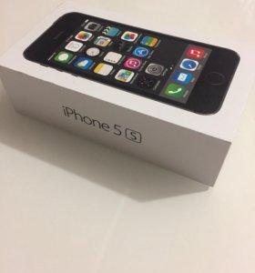 Коробка от Apple 5s